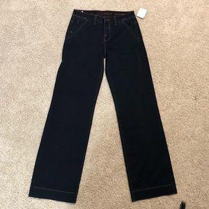 NWOT Liverpool dark blue jeans